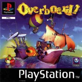 The cover art of the game Overboard!.