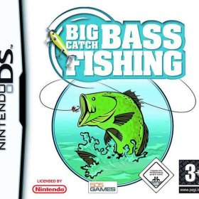 The cover art of the game Big Catch - Bass Fishing.