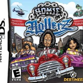 The cover art of the game Homie Rollerz .