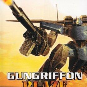 The cover art of the game Gungriffon Blaze.