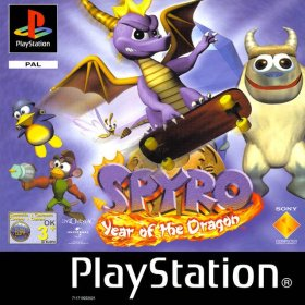 The cover art of the game  Spyro: Year of the Dragon.