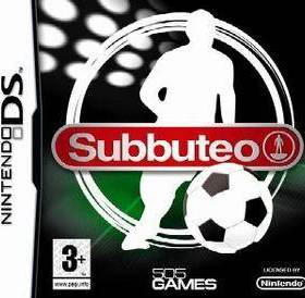 The cover art of the game Subbuteo .