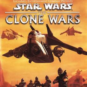The cover art of the game Star Wars: The Clone Wars.