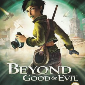 The cover art of the game Beyond Good & Evil [English, Spanish] .