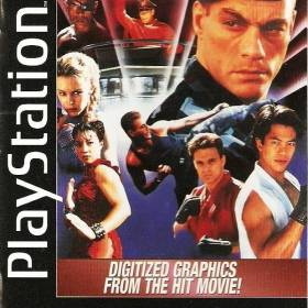 The cover art of the game Street Fighter: The Movie.