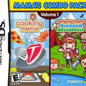The cover art of the game Mamas Combo Pack Volume 1.