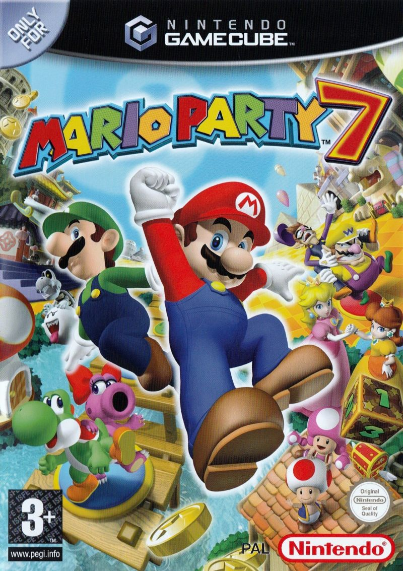 The coverart image of Mario Party 7