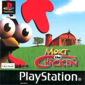 The cover art of the game Mort the Chicken.