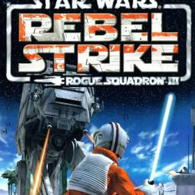 The cover art of the game Star Wars: Rogue Squadron III - Rebel Strike.