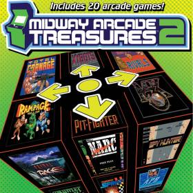The cover art of the game Midway Arcade Treasures 2.