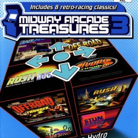 The cover art of the game Midway Arcade Treasures 3.