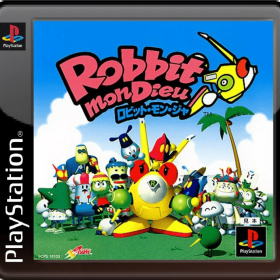 The cover art of the game Robbit mon Dieu.