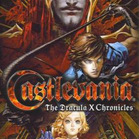 The cover art of the game Castlevania: The Dracula X Chronicles.