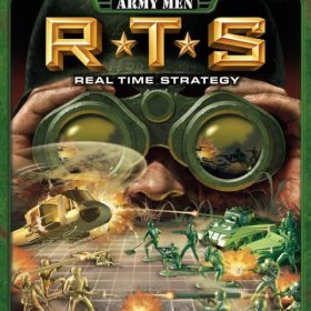 The cover art of the game Army Men: RTS.