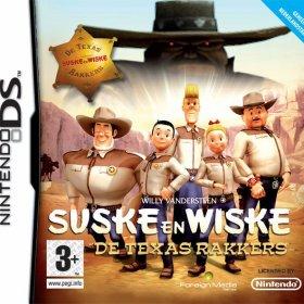 The cover art of the game Suske en Wiske - De Texas Rakkers .