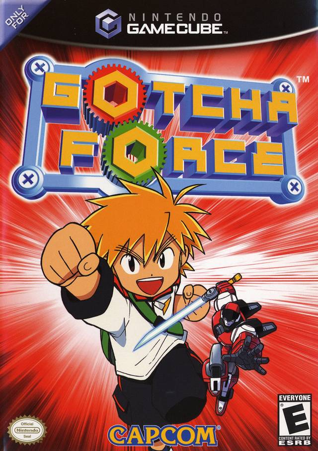 The coverart image of Gotcha Force