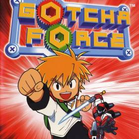 The cover art of the game Gotcha Force (Undub).