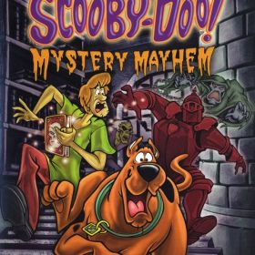 The cover art of the game Scooby-Doo! Mystery Mayhem.