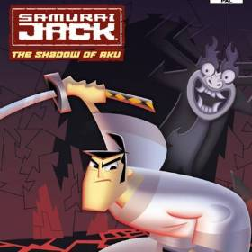 The cover art of the game Samurai Jack: The Shadow of Aku.