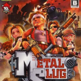 The cover art of the game Metal Slug (2006).