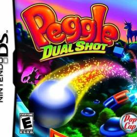 The cover art of the game Peggle - Dual Shot .