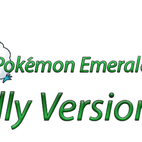 The cover art of the game Pokémon Emerald: Wally Version.