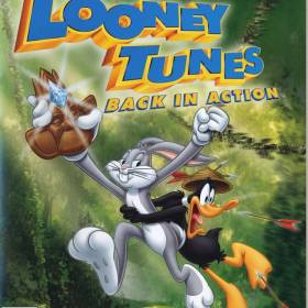 The cover art of the game Looney Tunes: Back in Action.