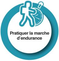 logo pratiquer la marche d'endurance