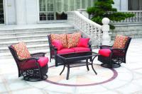 Backyard Creations 4-Piece Allenwood Deep Seating ...