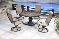 Backyard Creations 5-Piece Murano Dining Collection at ...