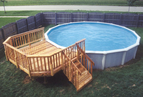 10' X 12' Leisure Deck For A 21' Pool At Menards®