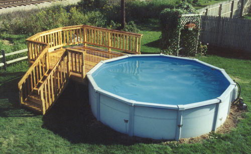 10' X 10' Pool Deck  Building Plans Only