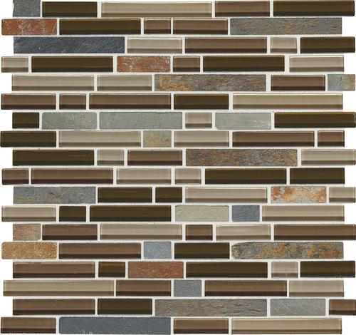 menards kitchen backsplash axor faucet phase mosaics stone and glass wall tile 5/8