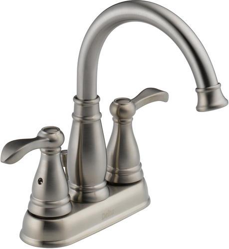 Delta Porter 4 in 2Handle High Arc Bathroom Faucet at