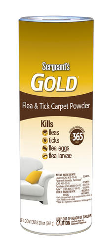 Sergeant's Gold® Flea and Tick Carpet Powder at Menards®