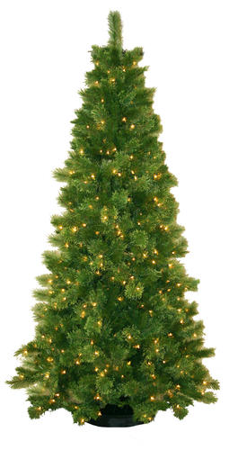 75 Prelit Sheridan Pine Christmas Tree at Menards