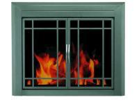 Edinburg Medium Prairie Cabinet Style Fireplace Door at ...