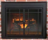 Easton Small Prairie Cabinet Style Fireplace Door at Menards
