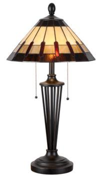 "Denman 2-Light 30"" Bronze Table Lamp"