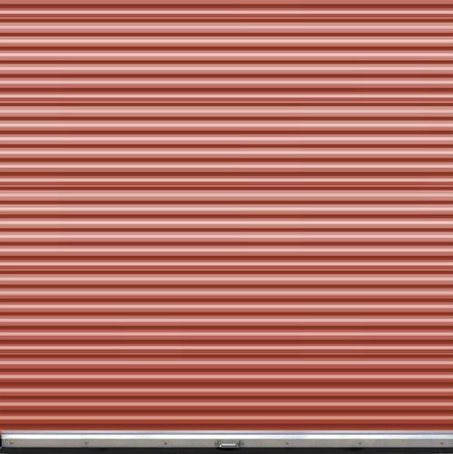 Ideal Door 174 9 Ft X 9 Ft Ribbed Model 200m Roll Up Door