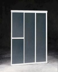 "Maax Triple Plus 44.5"" - 3-Panel Sliding Shower Door at ..."