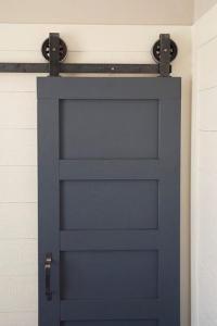 Artisan Top Mount Barn Door Hardware Kit Door at Menards