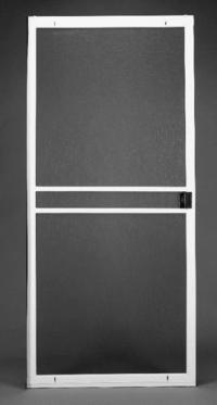 """36"""" x 80"""" Premium White Aluminum Replacement Patio Door ..."""
