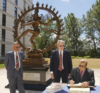 Lord Shiva Statue Unveiled - CERN Document Server