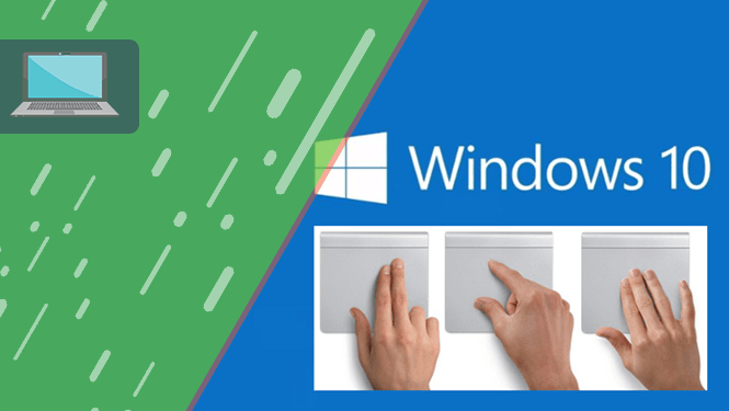 Gestos en windows 10