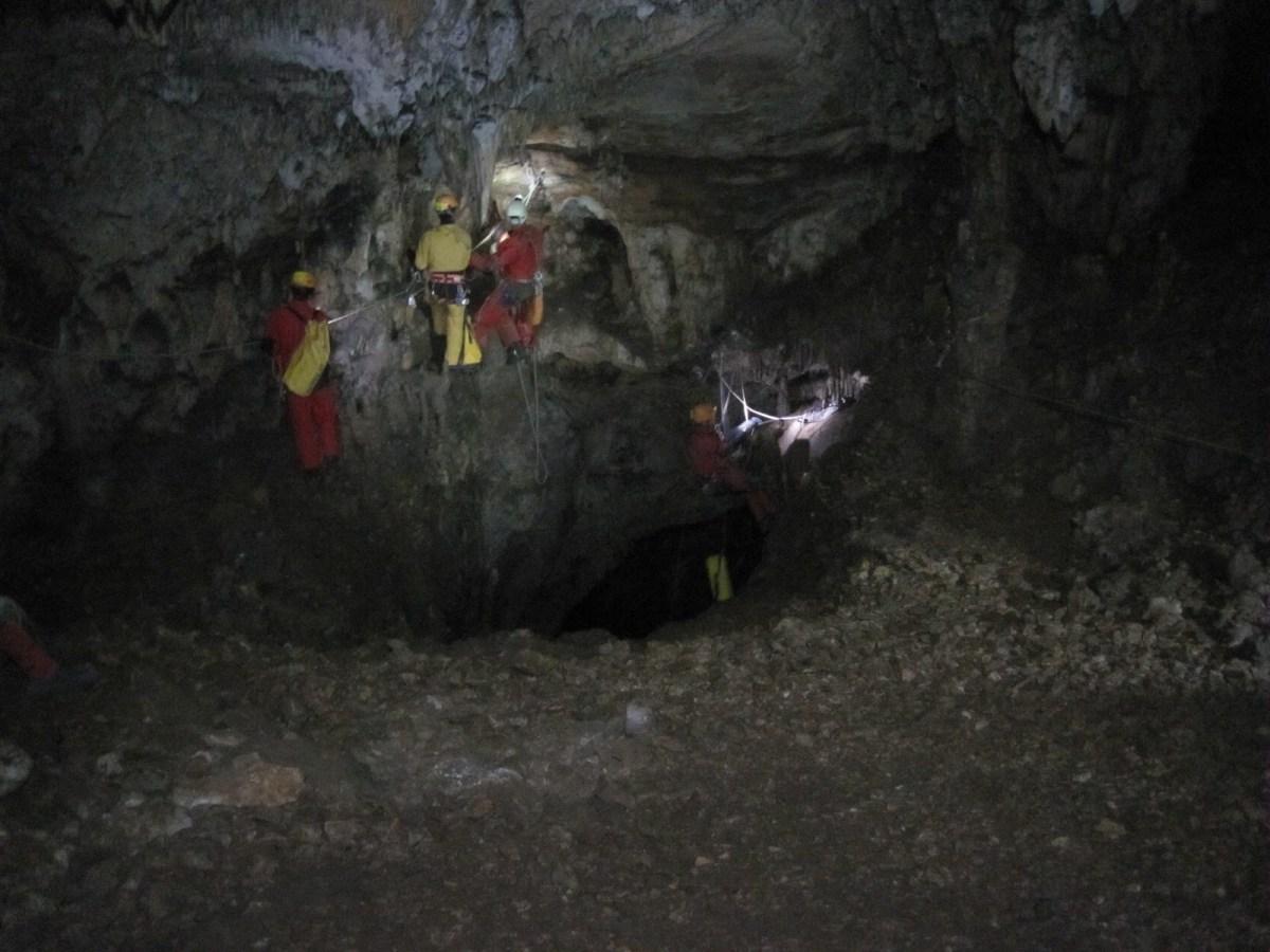 Départ du premier puits