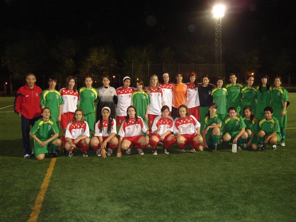 Foto de los dos Equipos
