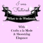 Featured What to do Weekends