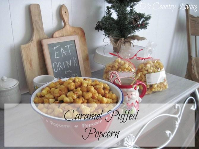 Caramel Puffed Popcorn1