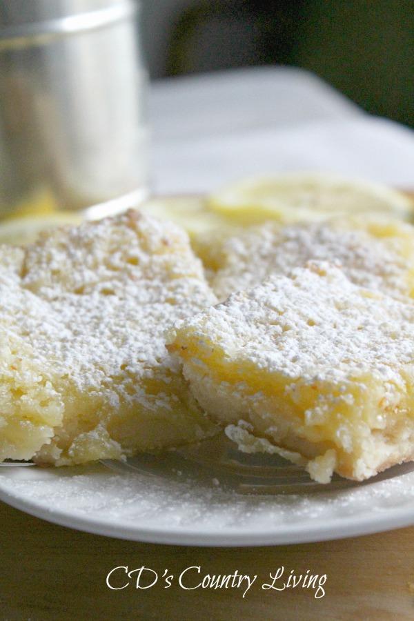 Lemon Bars-Homemade
